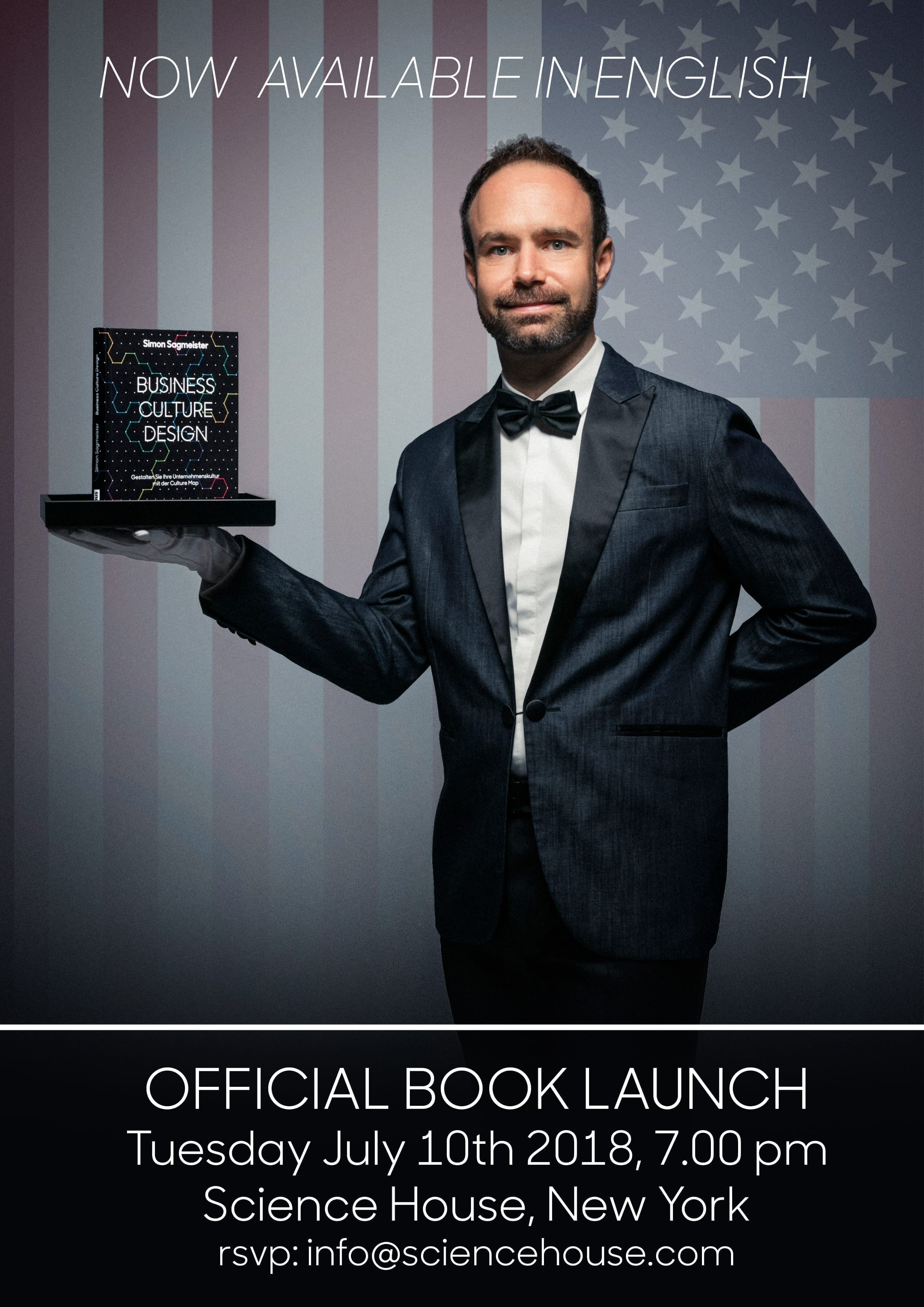 Book Launch - now available in english - Simon Sagmeister